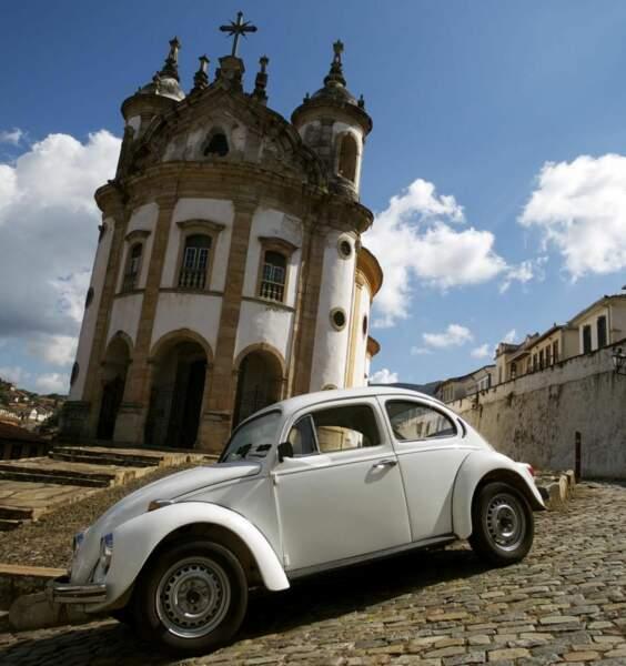 Photo prise à Ouro Preto (Brésil) par le GEOnaute : bruno.mathis