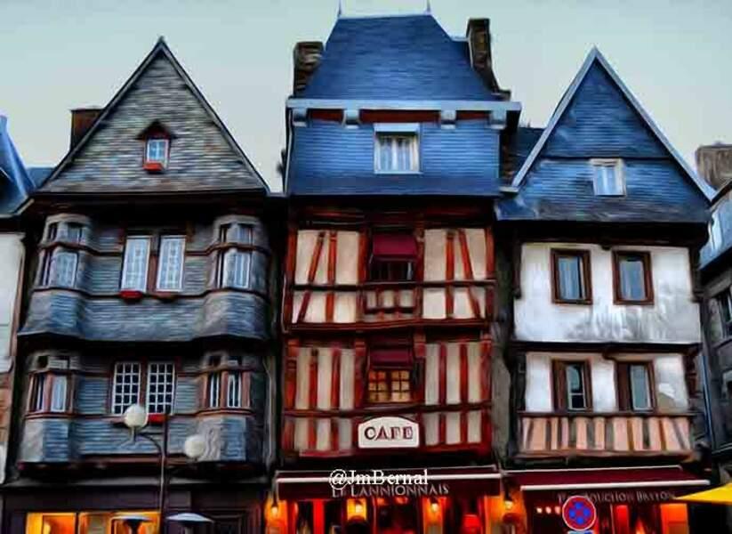 Photo prise à Lannion (Bretagne) par le GEOnaute : bernaÃ«l