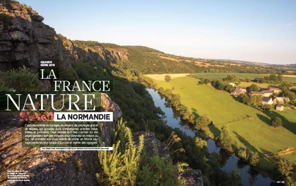 """GRANDE SÉRIE 2015 """"LA FRANCE NATURE"""" : La Normandie"""