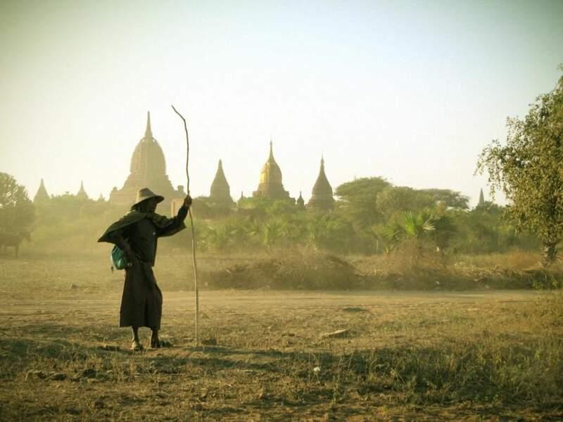 Photo prise à Bagan (Birmanie) par Treizeuuh