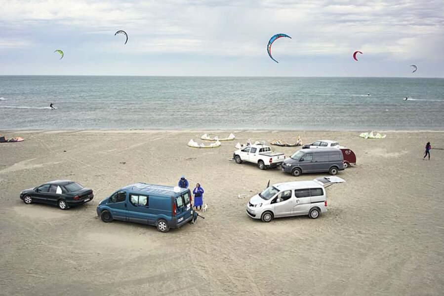 Beauduc, l'un des plus beaux spots de kite