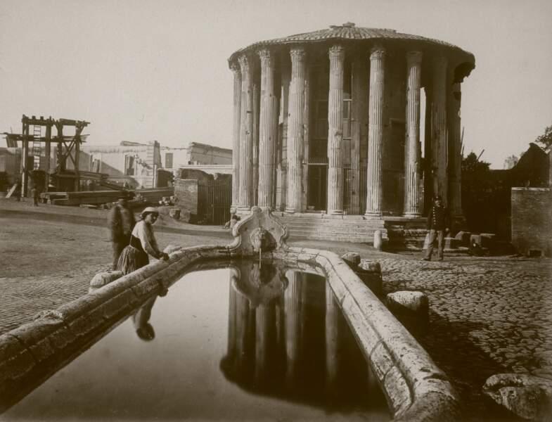 Le temple d'Hercule