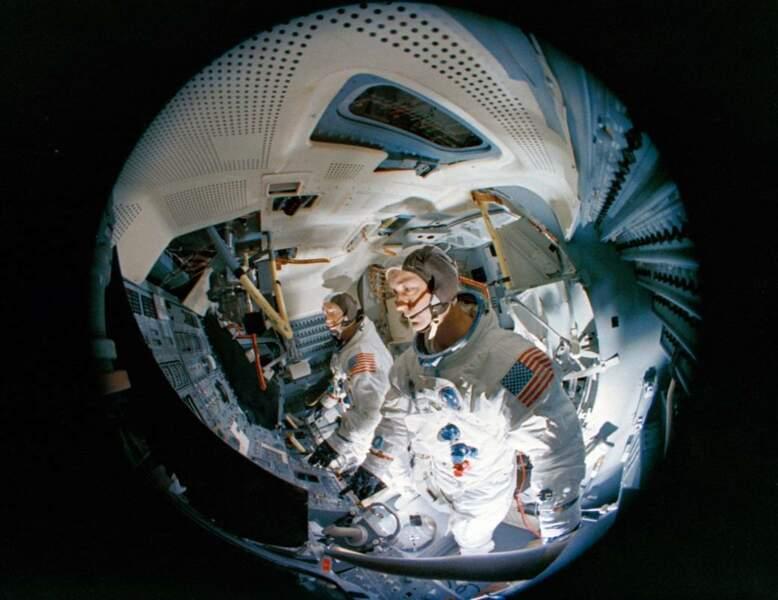 Apollo 9 : l'astronaute qui avait le mal de l'espace