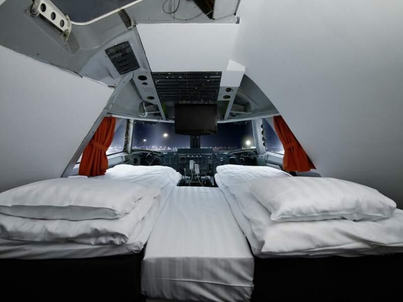 Un hôtel dans un avion