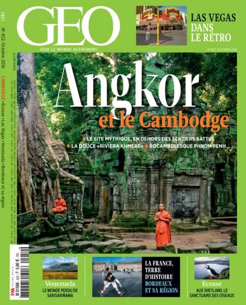 Retrouvez l'intégralité de cet incroyable reportage dans le magazine GEO n°452 (octobre 2016)