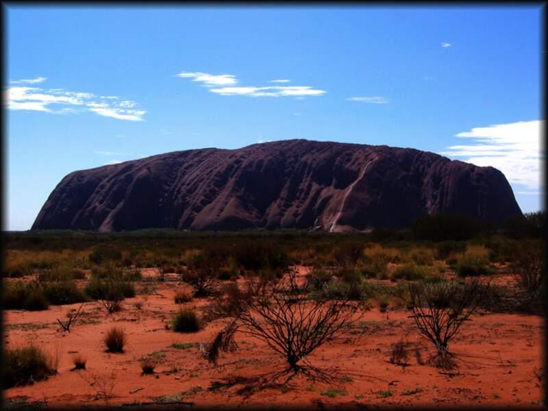 Photo prise à Ayer's rock (Australie) par Julien Lecomte