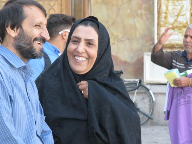L'accueil chaleureux des Iraniens