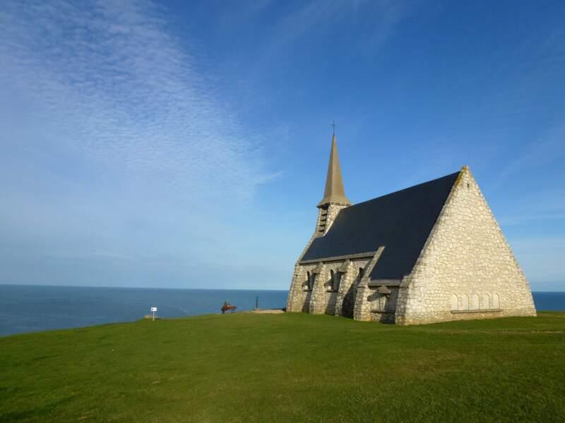 La chapelle Notre-Dame de la Garde à Étretat