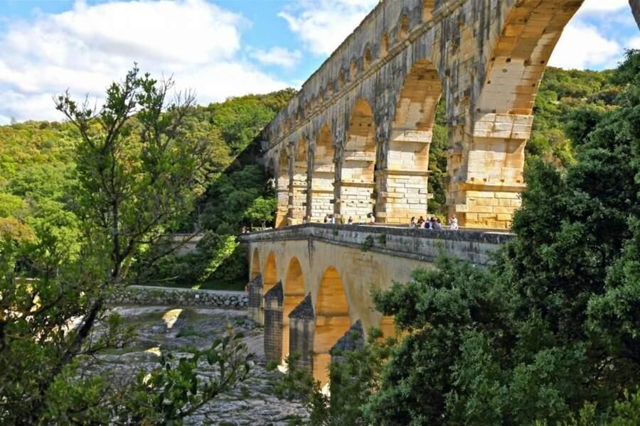 Photo prise au Pont-du-Gard (Languedoc-Roussillon), par leroy