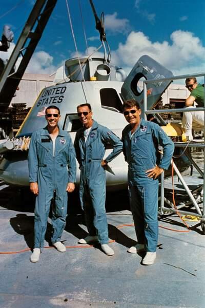 Apollo 7 : les râleurs de l'espace
