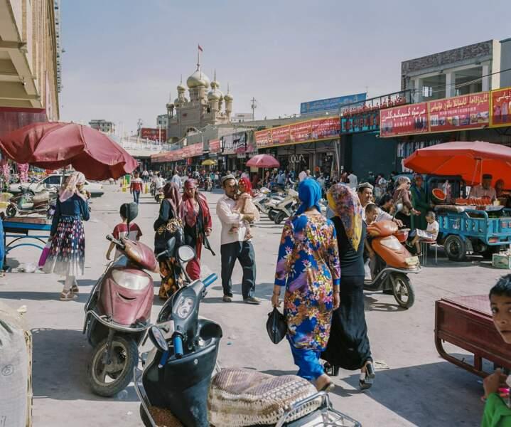 Kashgar, place forte