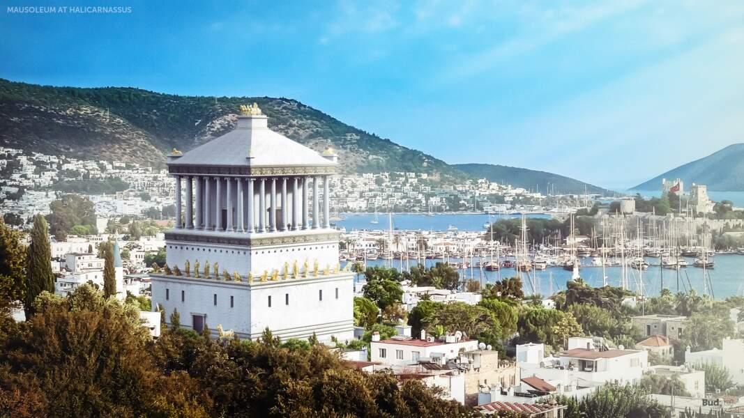 5 - Le mausolée d'Halicarnasse