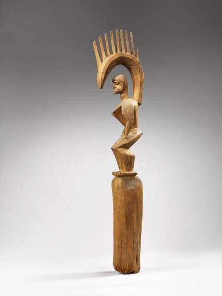 Sculpture anthropomorphe, fin 18e siècle