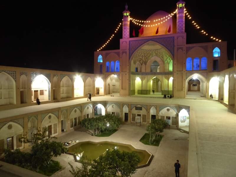 Mosquée Agha Bozorg, à Kashan