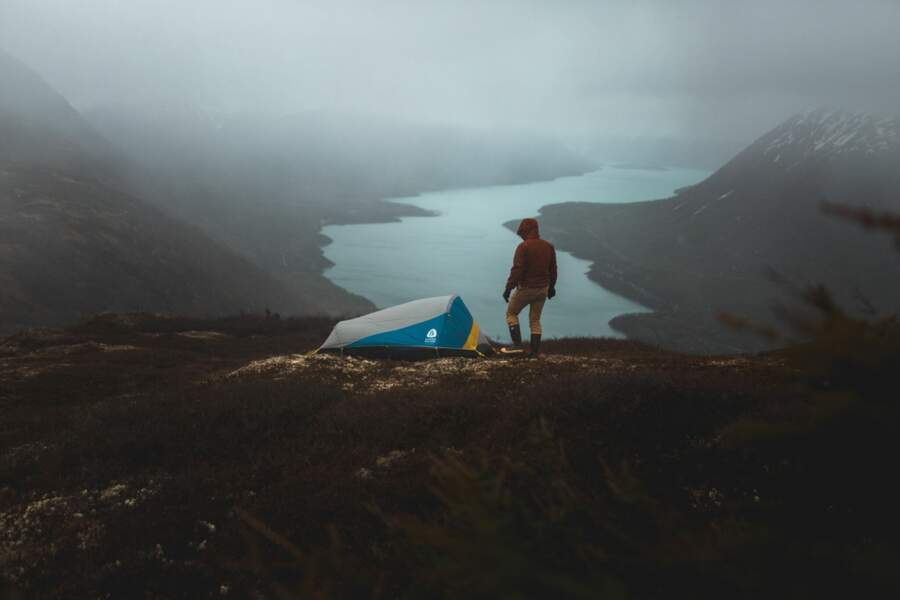 Lac Kenai, en Alaska (Etats-Unis)