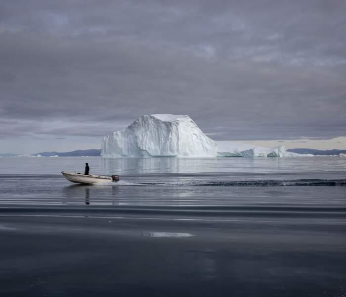 Beaux et dangereux icebergs