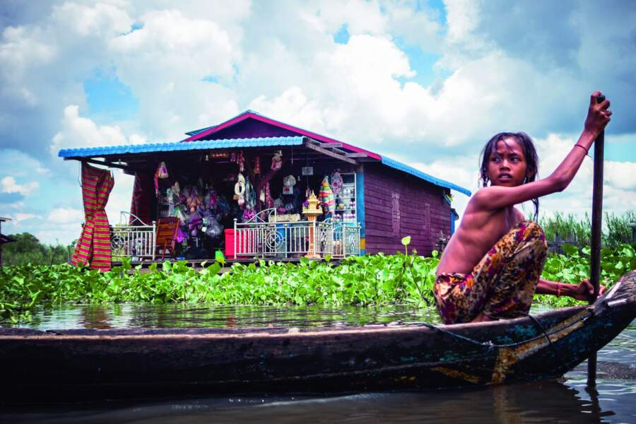 Mechrey, un village sur l'eau