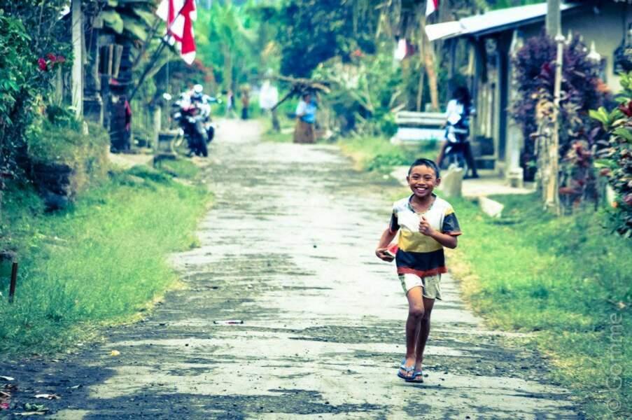Photo prise en Indonésie, par le GEOnaute Gomme