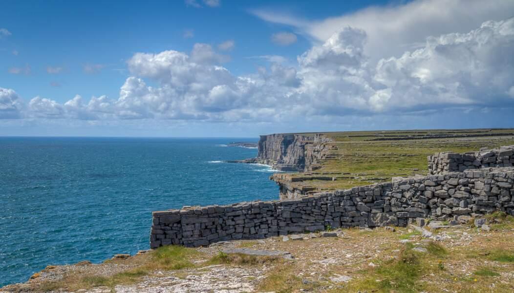 Falaises d'Inishmore, îles d'Aran