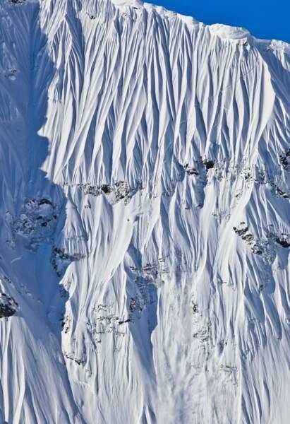 L'«Impossible Wall», au parc national de Glacier Bay, Alaska (2010)