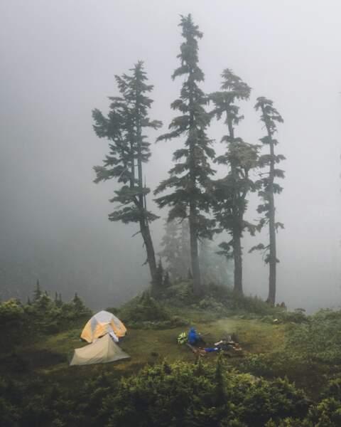 Mount Baker, dans l'Etat de Washington, aux Etats-Unis