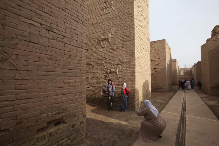 Babylone, un des rares sites touristiques
