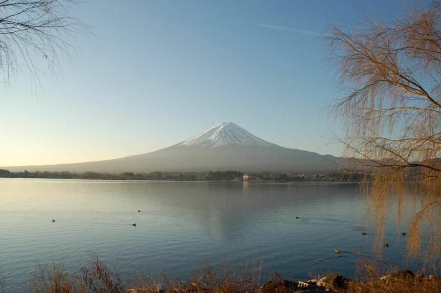 Photo prise au Mont-Fuji (Japon) par le GEOnaute : voyagista
