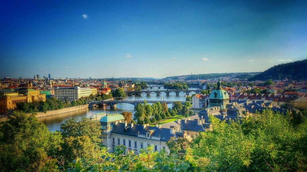 Prendre un peu de hauteur pour des points de vue splendides sur Prague