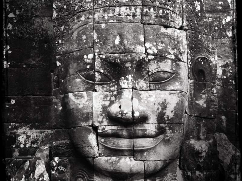 """Le célèbre """"sourire khmer"""" - Bayon"""