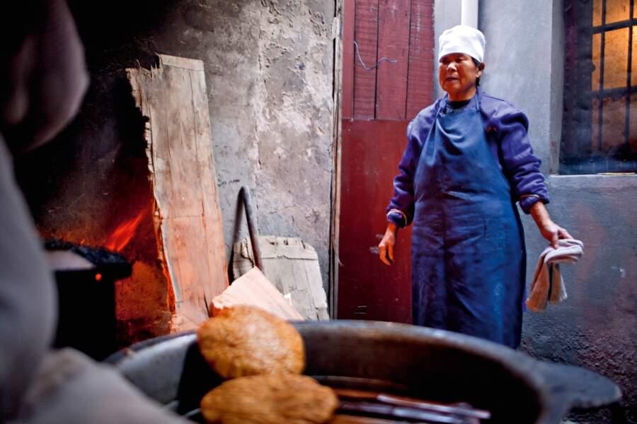 Vente de pain pour financer la mosquée