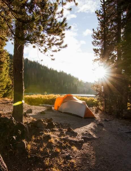 Lac Devils, dans l'Oregon, aux Etats-Unis