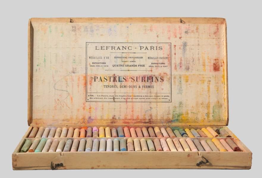 Boîte de pastels de Jean Moulin