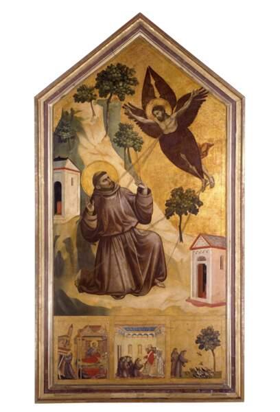 Saint François d'Assise recevant les stigmates, Giotto di Bondone (1267-1337)
