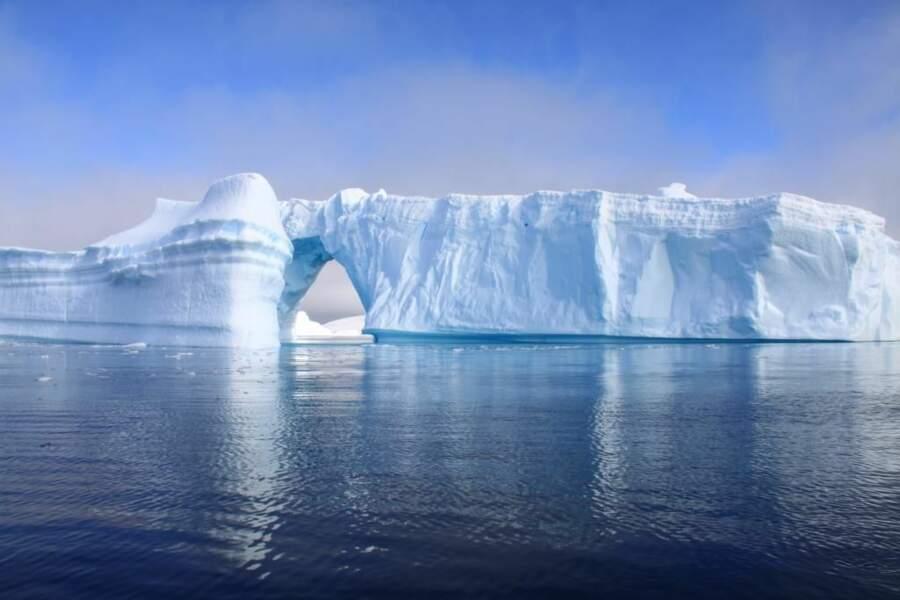 Photo prise en Antractique par le GEOnaute : fitou