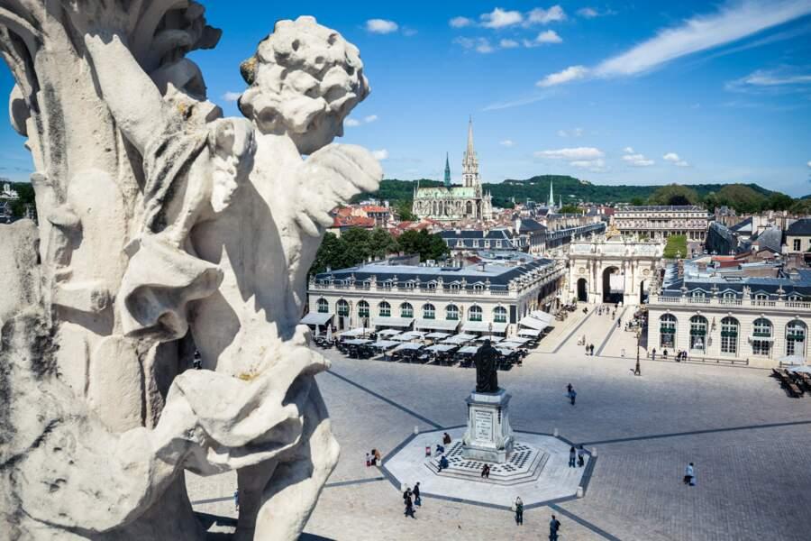 La place Stanislas, encore elle : l'un des paysages urbains les plus harmonieux de l'époque des Lumières