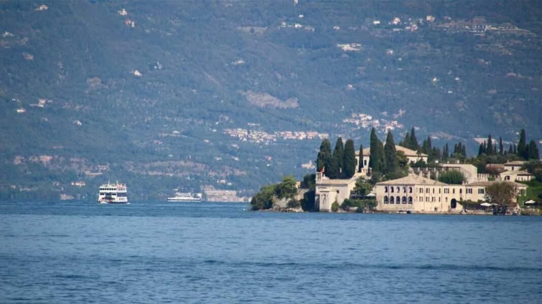 Photo prise à la Punta San Vigilio a Garda (Italie) par le GEOnaute : arobart