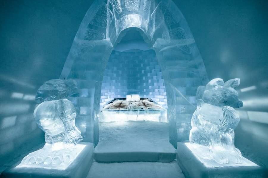Un hôtel de glace