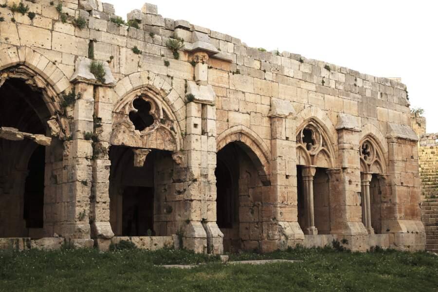 Le Krak des chevaliers, un des rares sites faisant l'objet d'une restauration