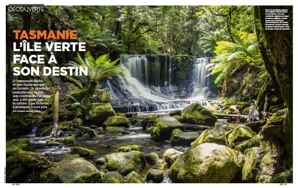 DÉCOUVERTE : Tasmanie, l'île verte face à son destin