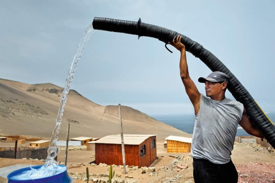 Pachacutec, Pérou : une goutte d'eau dans le désert