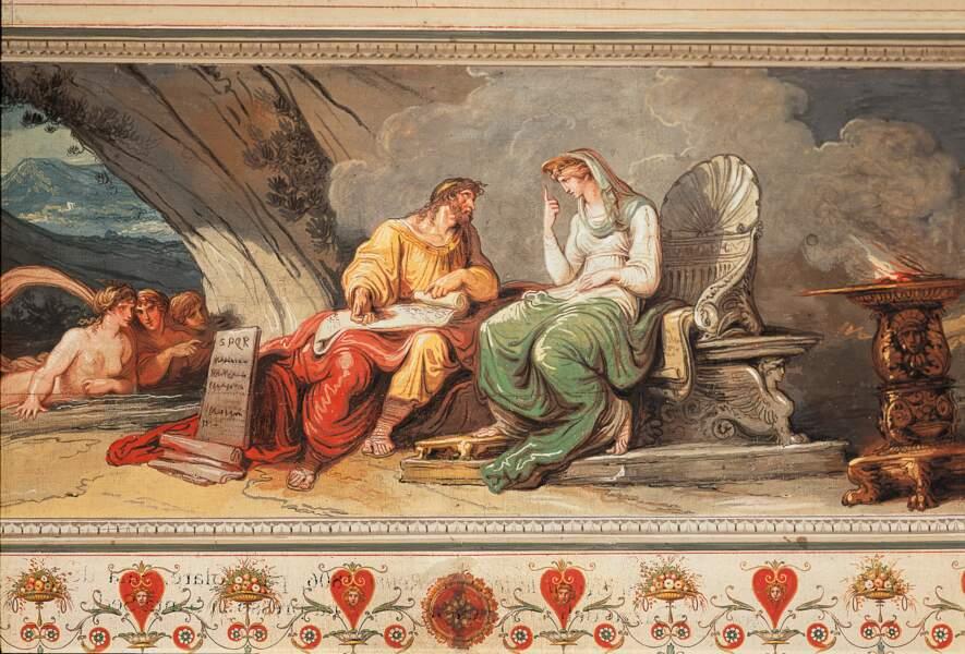 Numa Pompilius (715 - 673 av. J.-C.) : il réforma le calendrier civil et religieux
