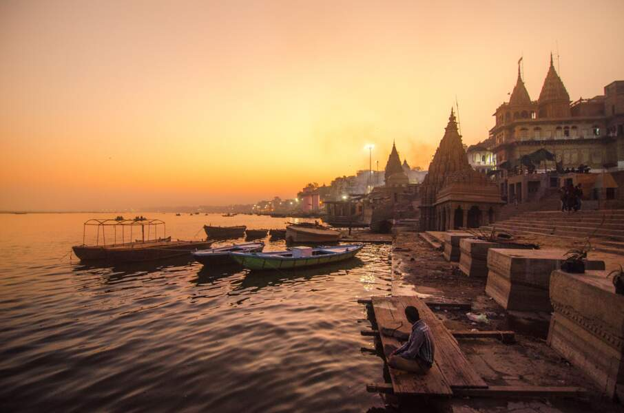 Le Gange et la Yamuna