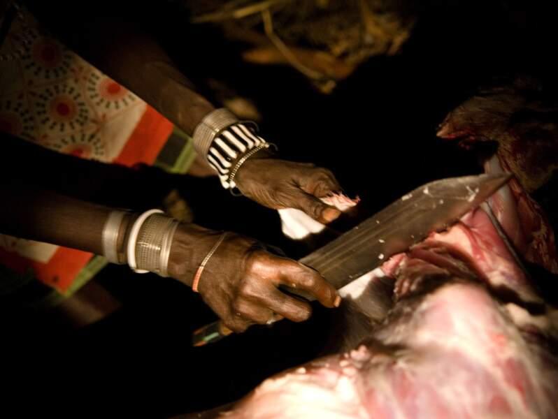 Le rituel de la chèvre