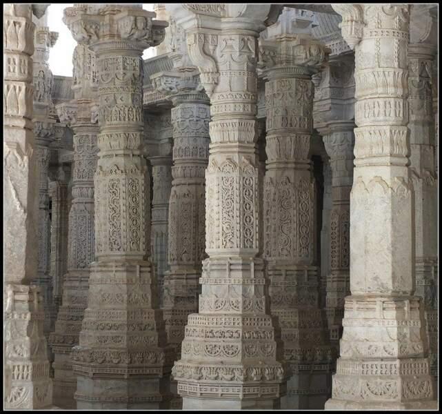 Temple à Ranakpur, en Inde, par le GEOnaute voyaj'heur33000