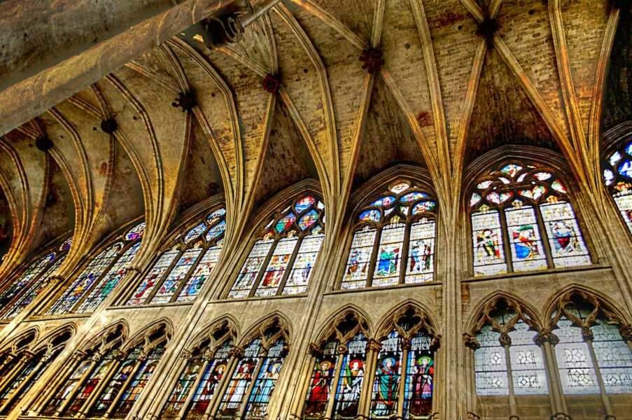 Photo prise dans l'église Saint-Séverin (Paris) par le GEOnaute : anaval