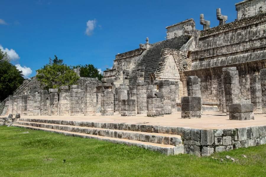 Chichén Itzá, le temple des Guerriers