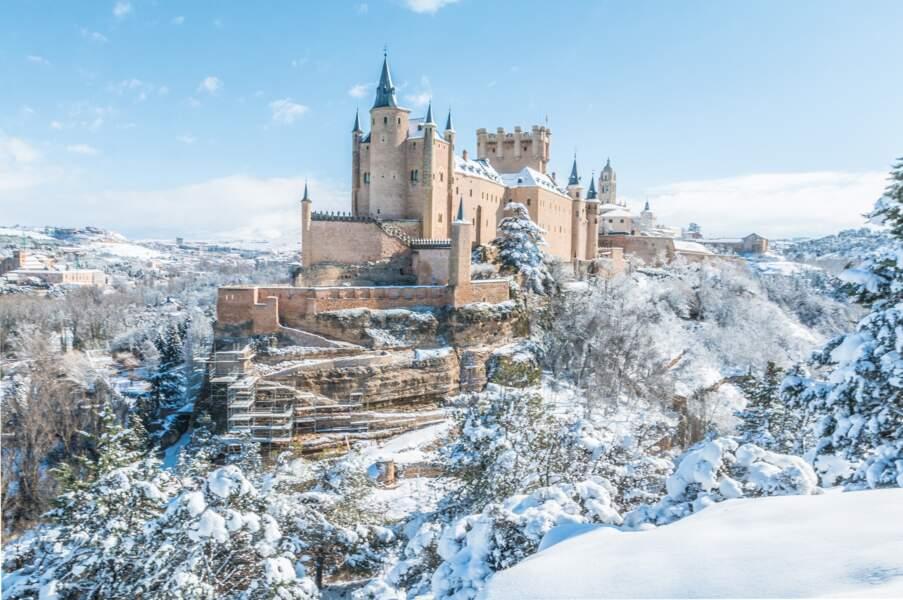 Alcázar de Ségovie, Castille-et-León, Espagne