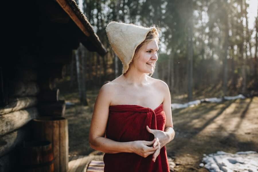 Un sauna après les préparatifs (Estonie)