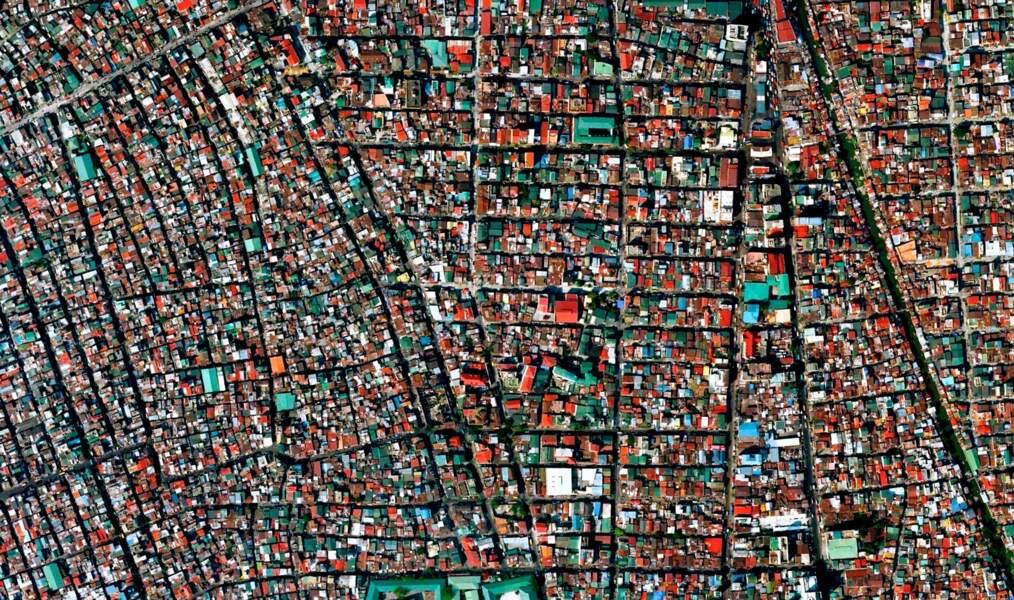 Le district de Tondo à Manille aux Philippines