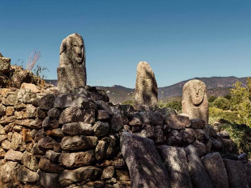 Des guerriers de pierre
